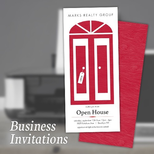 Custom Business Invitations