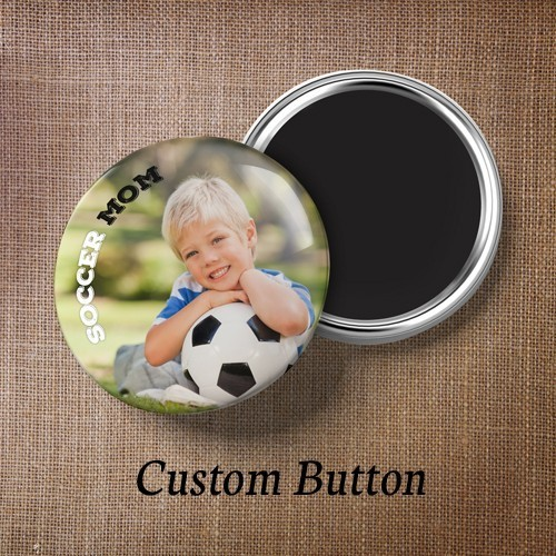 Custom Buttons With Magnet Back