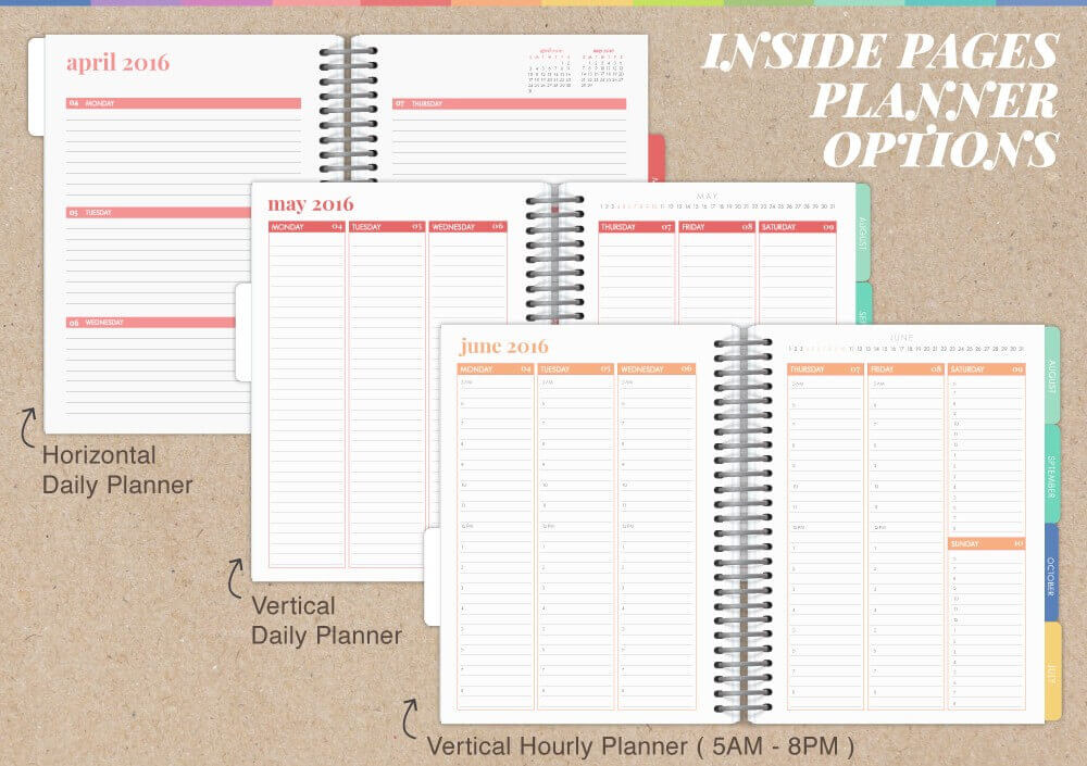 Create your own custom planner best free home design Design your own planner online