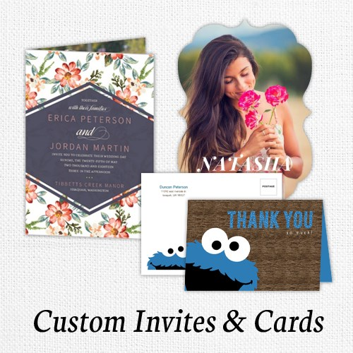 Custom Invitations & Cards