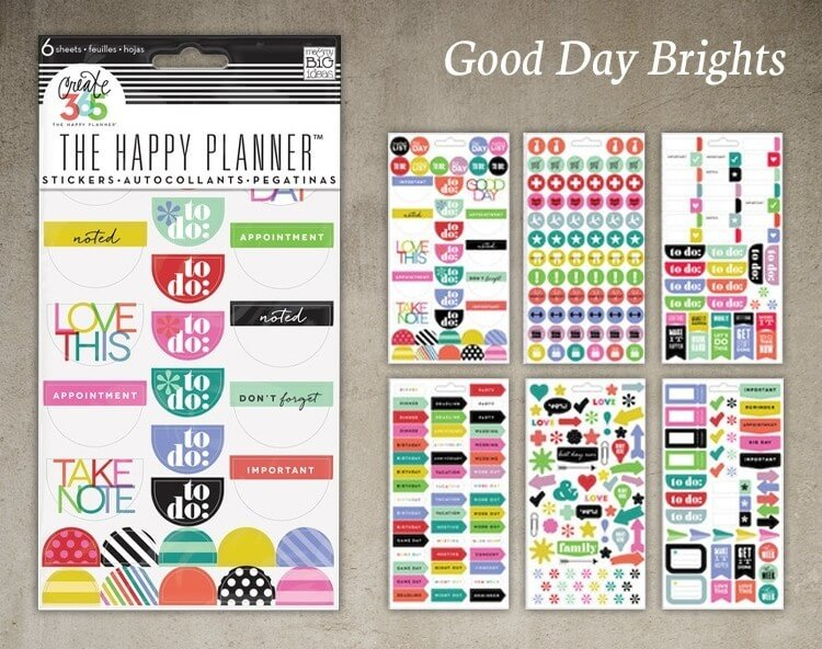 Good Day Brights Sticker Pack