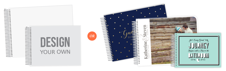 Design Your Guest Book Cover From Scratch