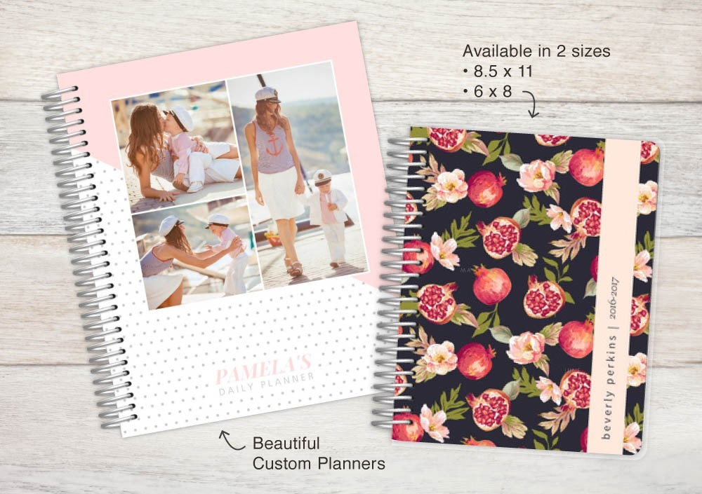 Our Planners Comes In Two Different Sizes