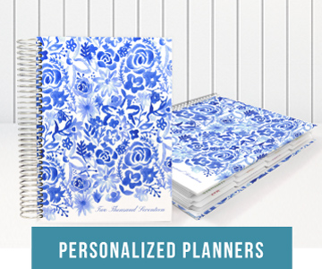 Personlized Planners