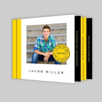 Booklet Graduation Announcements