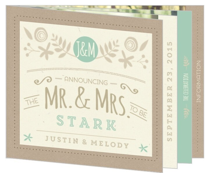 Custom Booklet Cards
