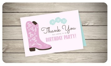 Birthday Thank You cards