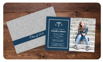 Nursing School Graduation Invitations