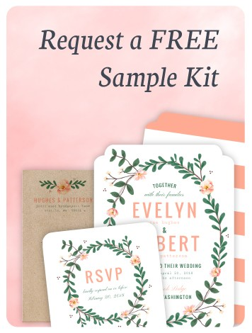 Request A Free Wedding Sample Kit