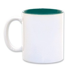 Custom Mug - Green Inside