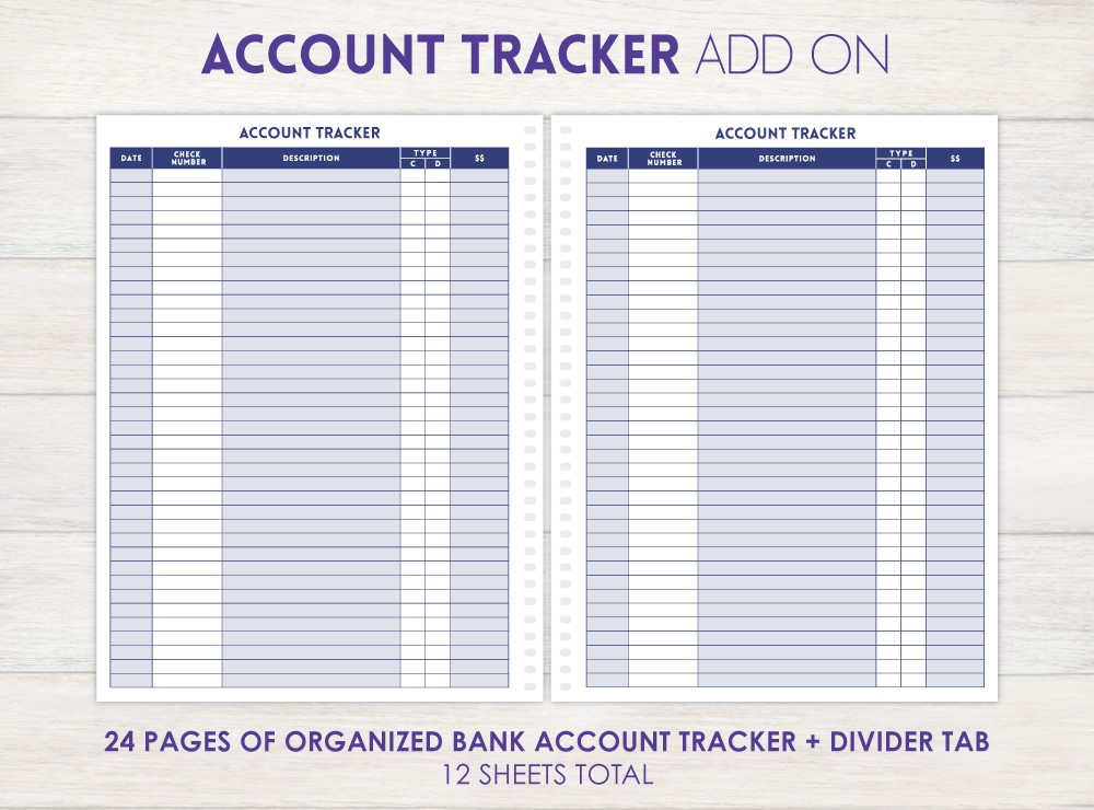 Account Tracker Add-On