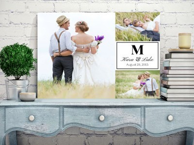 Wedding custom canvas in Issaquah, Bellevue & Greater Seattle, WA