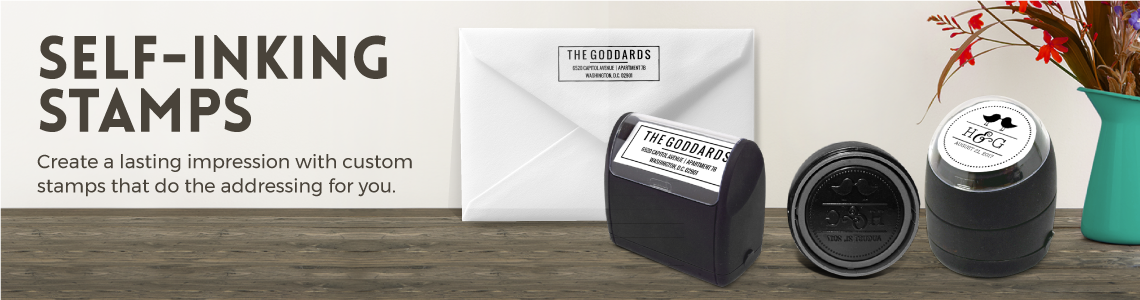 Custom Stamps, Self-Inking Stamps, Personalized Stamps