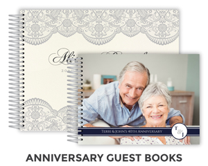 Anniversary Guest books