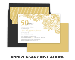 Anniversary Party Invitations