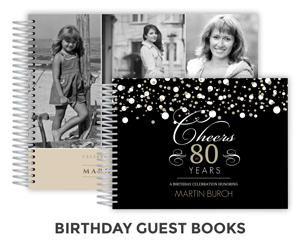 Create Birthday Guest Book