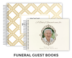 Funeral Guest books