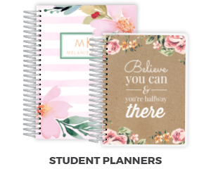 Personalized Planners Custom Planners 2018 Planners