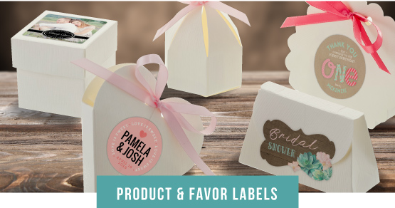 Product & Favor Labels