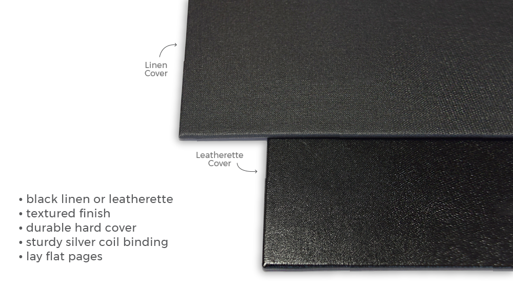 About Leatherette & Linen Cover