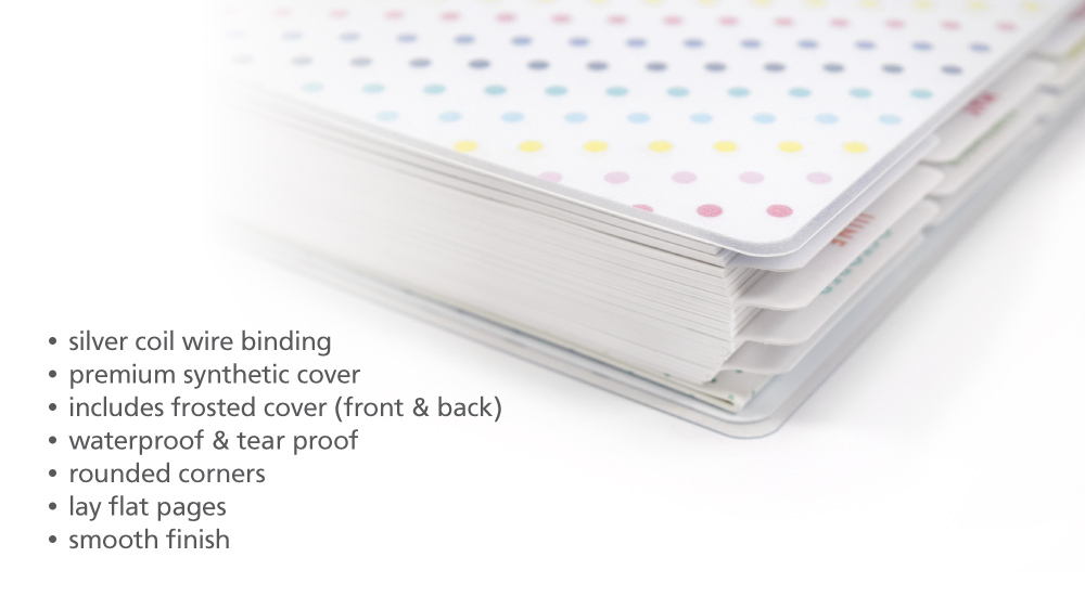 About Synthetic Softcover Wire Bound Planner