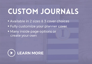 Custom Journals & Personalized Journals