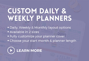 Daily Planners, Daily Agenda, Daily Calendar