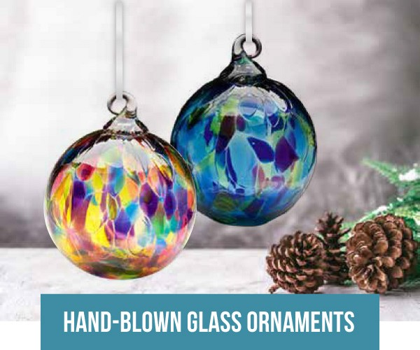 Hand-Blown Glass Ornaments