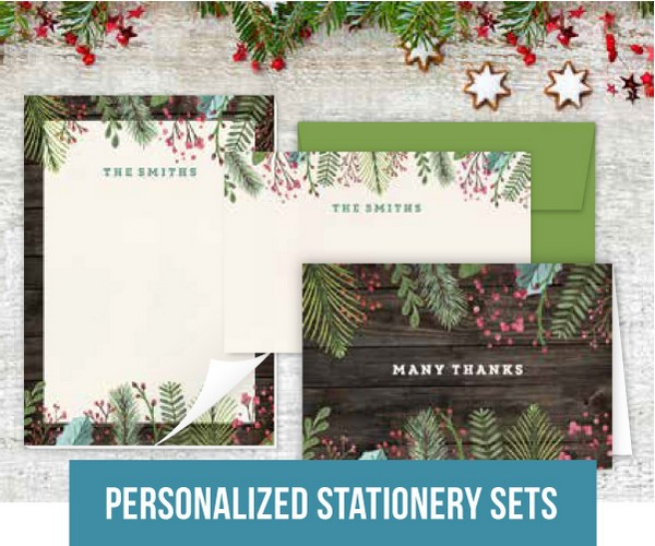 Personalized Stationery Sets