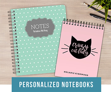 Personlized Notebooks