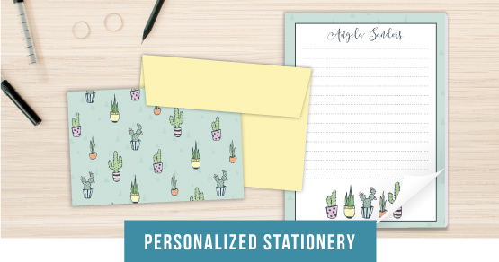 Personlized Stationery