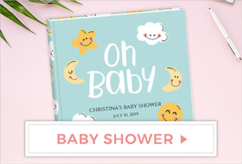 Create Baby Shower Guest Books