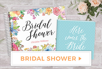 Create Bridal Shower Guest Books
