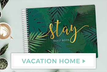 Create Vacation Home Guest Book