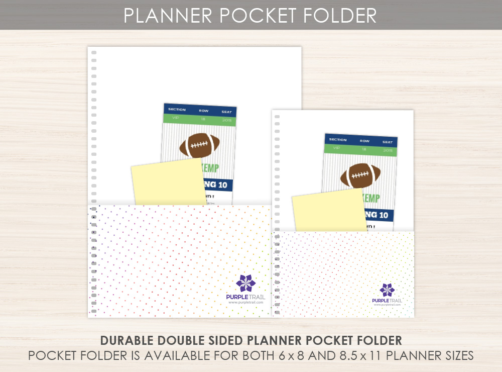 Double Sided Pocket Folder