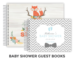 Create Baby Shower Guest Book