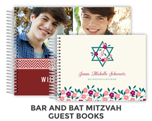 Create Bar & Bat Mitzvah Guest Book