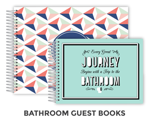 Bathroom Guest books
