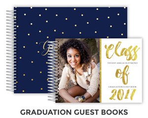 Graduation Guest books
