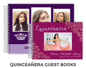 Create Quinceanera Guest Book