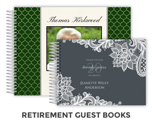 Create Retirement Guest Book