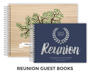 Create Reunion Guest Book