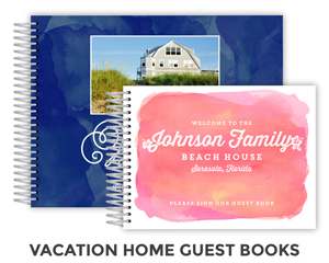Create Vacation Guest Book