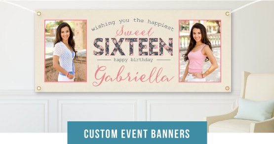 Custom Event Banners
