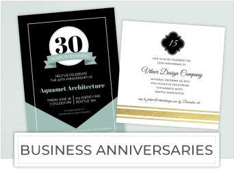 Business Anniversaries