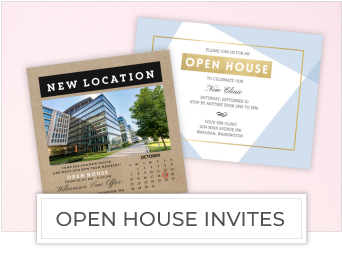 Open House Invites